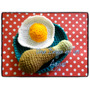 Amigurumi Comidas Pollo Con Huevo Frito