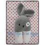 Amigurumi Crochet Sonajero Conejo