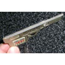 Muy Antiguo Silbato Pistola De Juguete De Chapa Argentina