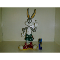 Antiguo Juguete Perfumero Conejo Bugs Bunny De Goma