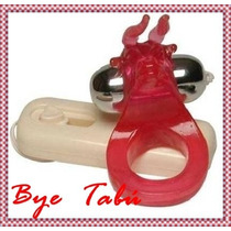 Anillo Vibrador Torito Con Bala Vibradora Estimula Clitoris