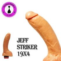 Vibrador Realistico C/testiculos Jeff Striker 19x4 Zona Sur!
