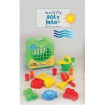 Maletín De Playa Sol Y Mar - Juguetes Para La Playa