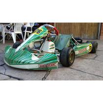 Chasis Tony Kart 2014, Impecable Y Otro Tony 2011 Caño De 32