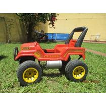 Excelente Jeep Infantil 4x4 A Pedal - Rodacross