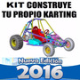 Kit Construye Carro Buggy Karting Go Kart Arenero Original