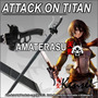 Espada Katana Attack On Titan Kensei Full Tang, Shingeki