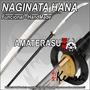 Katana Lanza Naginata Full Tang Filo Extremo Hana - Kensei