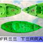 Kayak Simplo De Atlantikayaks 1 Per Especial Para Mar + Remo