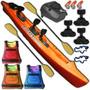 Kayak Rocker Warrior Asiento Rigido Salvavidas Pesca Palermo