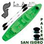 Kayak Rocker Warrior Triplo 2 Remos 2 Asientos