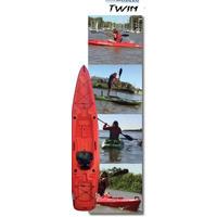 Kayak Rocker Twin- Entrega Inmediata - Con Remo Original