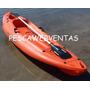 Kayak Kayaxion Wild Spirit Remo 2 Posacañas Novedad Colores
