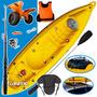 Kayak K1 Atlantikayak Porta + Carro + Acc 6-12 Cuotas S/i