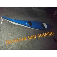 Kayak Single De Travesía Con Remo A Estrenar