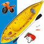 Kayak K1 Atlantikayak 1 Persona Carro Original + Sunchos!