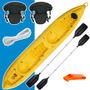 Kayak Atlantikayakk2+remo+asiento C/ Respaldo+silbato