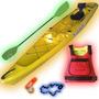 Kayak Rocker Twin 1 Persona +remo+salvavidas+pita+ Palermo