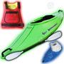 Combo #3 Kayak Jump Atlantikayaks Remo Cuchara+cubre Cockpit