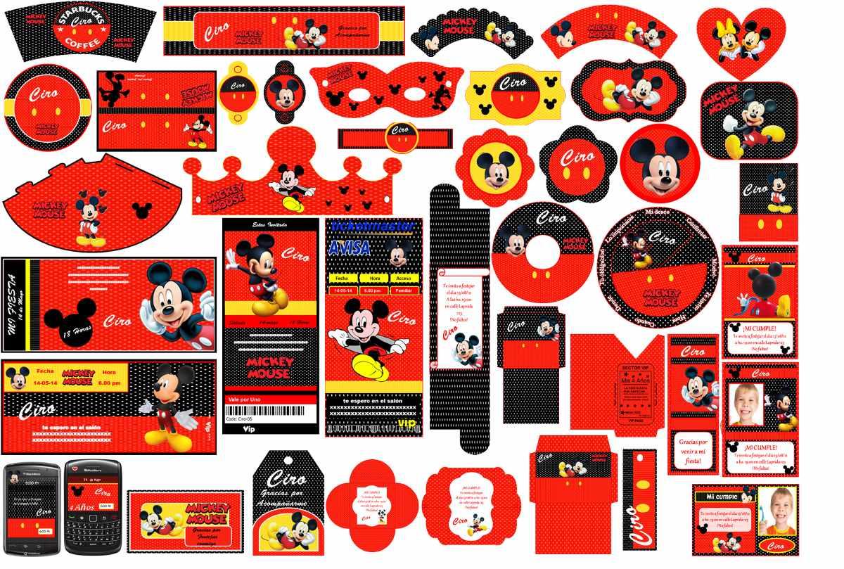 Pin pin invitaciones mickey minnie babys kit imprimible - Cosas de minnie para cumpleanos ...