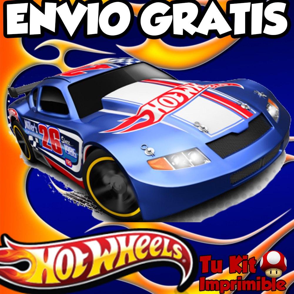 Tarjetas De Invitación Hot Wheels Imagui