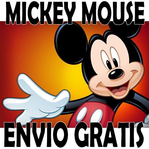 Kit Imprimible Mickey Mouse Tarjetas Cumpleaños Invitaciones ...