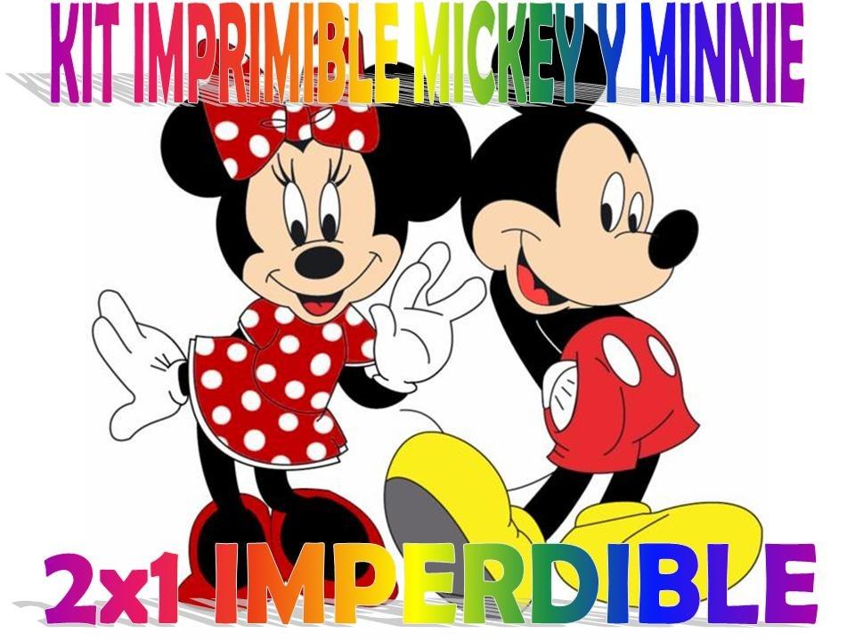 Tarjetas De Cumpleaños Mickey Y Minnie Imagui