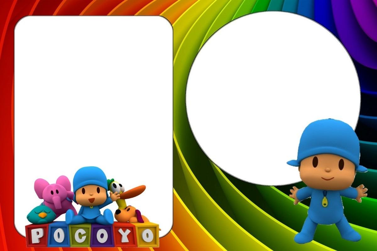 Marcos de Pocoyo para fotos gratis - Imagui