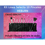 Kit Pinceles Profesionales Selecta Especial X10 Heburn