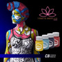 Maquillaje Body Painting Glow Colores Basicos - Pinturas
