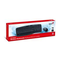 Kit Teclado Y Mouse Inalambrico Multimedia Genius Kb 8000x