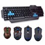 Teclado Mouse Para Gamers Noganet Usb Nkb-221 Y Nkb-228