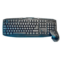 Kit Teclado Y Mouse Optico Noganet Mkb-c25 Inalambrico Gtia