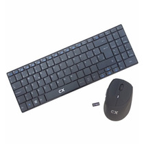 Teclado + Mouse Cx Wireless Negro