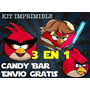 Kit Imprimible Angry Birds , Space Y Star Wars Ytli2016