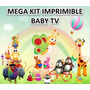 Mega Kit Imprimible Baby Tv