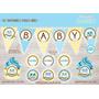 Kit Imprimible Buhos Niño Decoración Cumpleaños Baby Shower