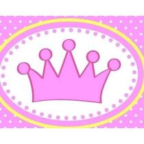 Kit Imprimible Baby Shower Coronita Candy Bar Tarjetas #1