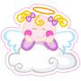 Kit Imprimible Baby Shower Bautizo Comunion Angelita Nube