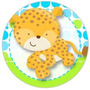 Kit Imprimible Baby Shower Jaguar Tarjeta Invitaciones Cumpl