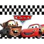 Kit Imprimible Cars Disney 2 En 1 Candy Bar + Cotillon Y Mas