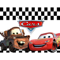 Kit Imprimible Cars Disney 2 En 1 Candy Bar + Cotillon Y Mas