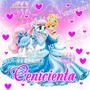 Kit Imprimible Princesa Cenicienta Invitaciones Y Más