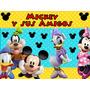 Kit Mickey Y Sus Amigos Diseñá Tarjetas Cajas Y Mas
