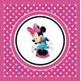Kit Imprimible Minnie Disney Candy Bar Invitaciones Deco