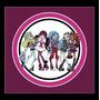 Kit Imprimible Monster High Candy Bar Invitaciones Decoracio