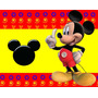 Kit Imprimible Candy Bar Golosinas De Mickey De La Casa