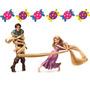 Kit Imprimible Candy Bar Enredados Rapunzel - Editable