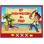 Kit Imprimible Jake Y Los Piratas * Cumpleaños Y Festejos *