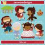 Kit Imprimible Caperucita Roja 4 Imagenes Clipart